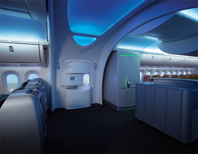 787 dreamliner interior for Interior 787 dreamliner
