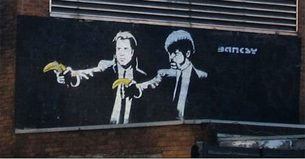 Bansky Pulp Fiction