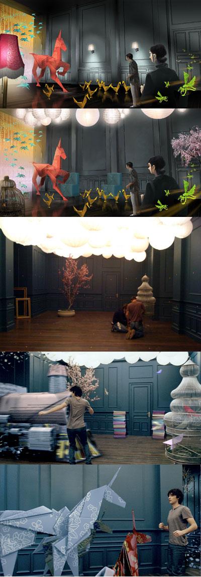 Syfy House of Imagination Origami